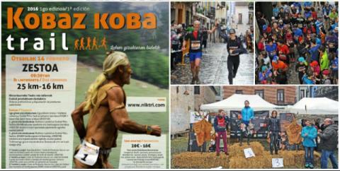 Buena acogida de la 1ª Edición de la 'Kobaz Koba Trail' en Zestoa